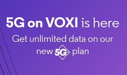 VOXI's unlimited data SIM