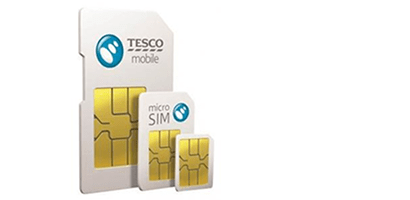 Tesco Mobile SIM card