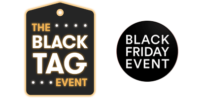 Black Friday sale logos