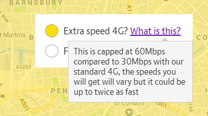 BT Mobile extra 4G speeds