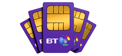Multiple BT Mobile SIMs