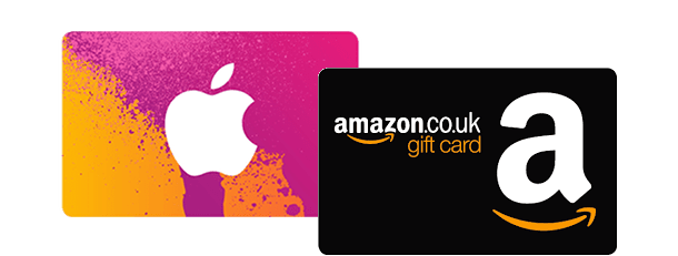 Amazon / iTunes voucher offer