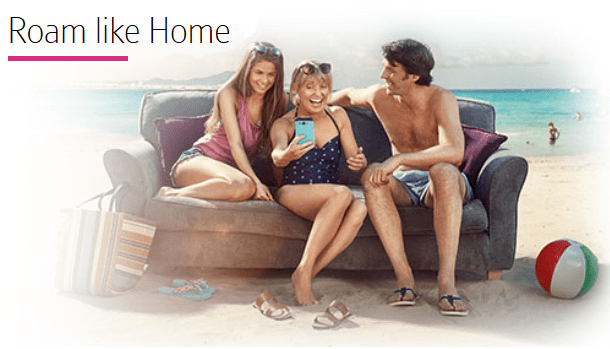 BT's Roam Like Home banner