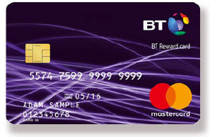 BT Mobile Reward Cards