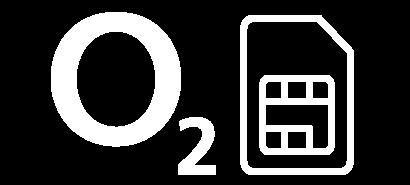 O2 logo with a SIM card