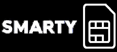 SMARTY logo with a SIM card