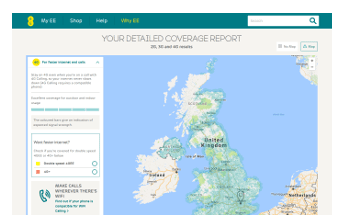 Check EE 4G/3G coverage
