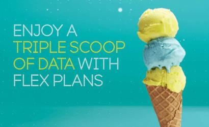 EE flex triple data banner
