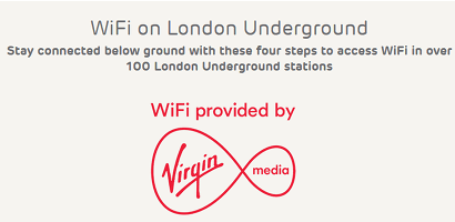 Free WiFi on the Underground with EE