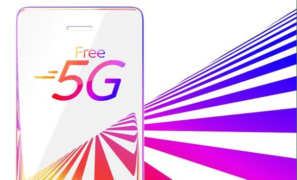 Free 5G data banner