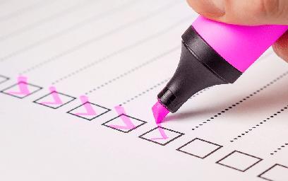 Generic checklist