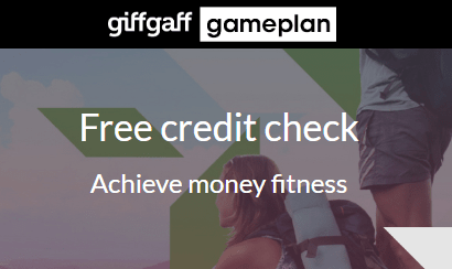 giffgaff's credit checking service