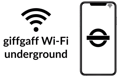 WiFi and TFL logos with a mobile phone