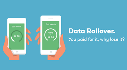 iD Mobile data rollover banner