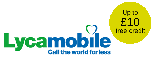 Lycamobile free credit offer