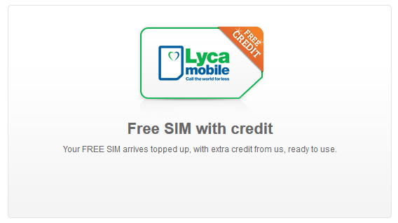 Free Lycamobile credit: how to get £5 - £10 on your SIM with