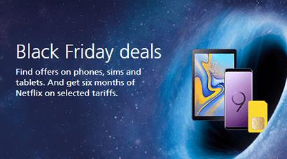 O2 Black Friday deals