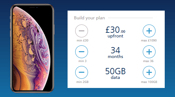 O2's customisable plans