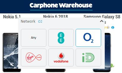 Carphone Warehouse O2 deals