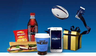 O2 Priority rewards scheme banner