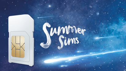 O2's summer SIMs