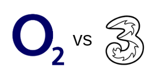 O2 vs Three