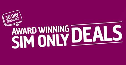 Plusnet's SIM only deals