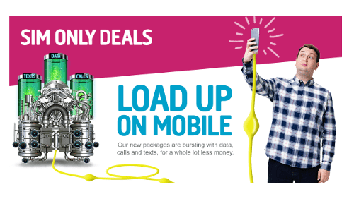 SIM only deals: Tesco Mobile The UK's biggest supermarket has been known to offer competitive - if not stellar - SIM plans, with low data prices starting at not much more than a fiver a month.