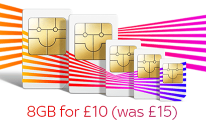 Sky Mobile double data offer