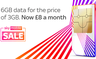 6GB for £8 on Sky