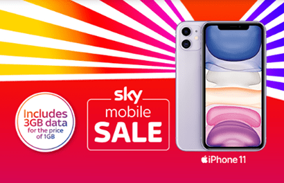 Sky Mobile phone contract sale