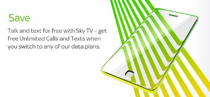 Sky TV customer savings