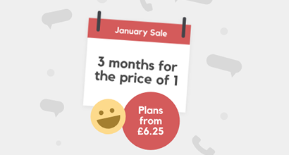 SMARTY January Sale banner