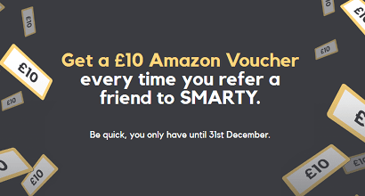 SMARTY's Amazon voucher offer