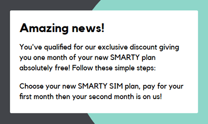 One free month with SMARTY screenshot