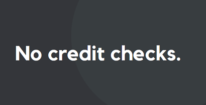 No credit check on SMARTY