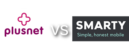 SIM only plans on Plusnet vs SMARTY