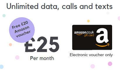 SMARTY unlimited plan Amazon offer