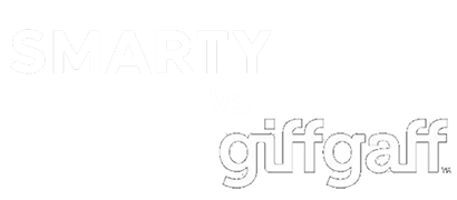 giffgaff vs SMARTY