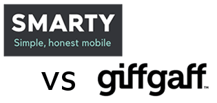 SMARTY vs giffgaff