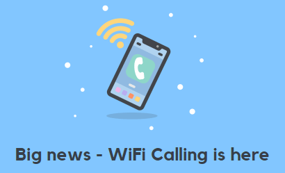 SMARTY WiFi calling banner