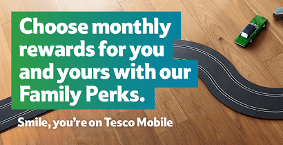 Tesco Mobile Family Perks