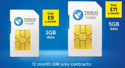 Tesco Mobile Christmas SIM only