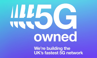 Three's fastest 5G banner