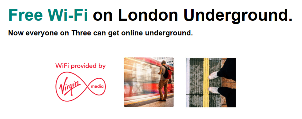 Free WiFi on the Underground