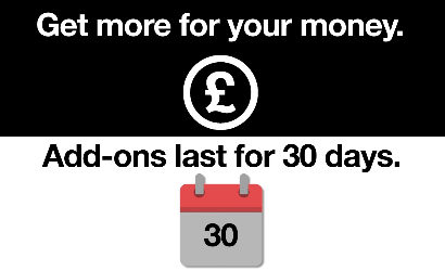 Three monthly PAYG add-ons