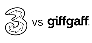 Three vs giffgaff