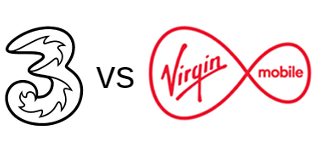 Three vs Virgin Mobile