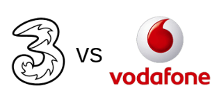 Three vs Vodafone