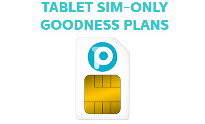 Data-only tablet SIM from The People's Operator